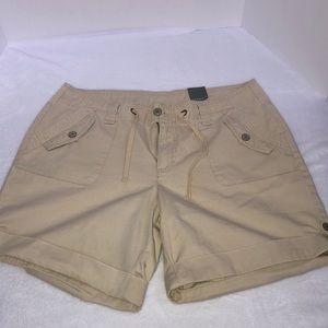 Women's Venezia Khaki Shorts Size 18